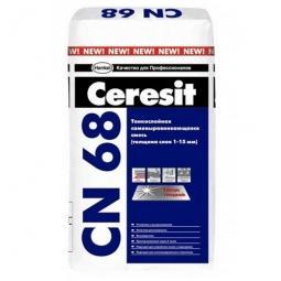 Смесь Ceresit CN68 тонкослойная самовыравнивающаяся 25кг