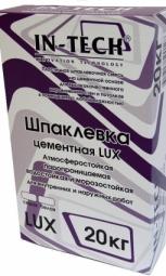 Шпатлевка In-Teck Lux цементная серая 20 кг