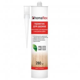 Герметик Homaflex Эластичный черный 0.4 кг/ 280 мл