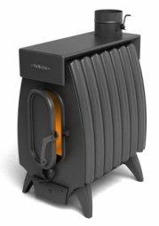 Печь отопительная Термофор Огонь-батарея 7 Лайт антрацит дровяная