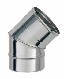 Колено 135° нержавеющее Ferrum 430/0.5 мм ф115