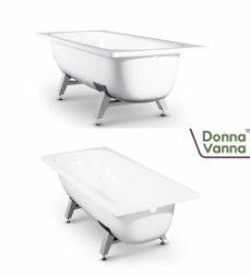 Ванна ВИЗ Donna Vanna стальная c опорной подставкой 140x70x40