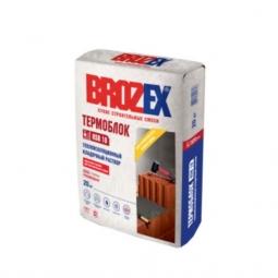 Термоизоляционный кладочный раствор Brozex Термоблок 20 кг