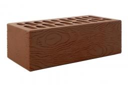 Кирпич лицевой керамический Шоколад «Ясень» пустотелый полуторный