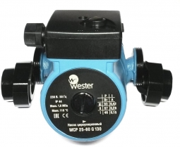 Насос Wester WCP 25-60G 130 мм (с гайками)