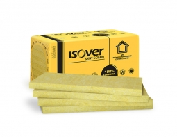 Минераловатный утеплитель Isover Фасад-Мастер 1000х600х50 мм / 6шт.