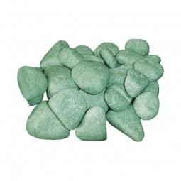 Камень для бани ХакасИнтерСервис Жадеит шлифованный средний ЗЖ, 10кг