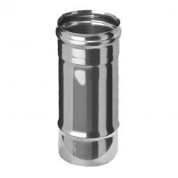 Дымоход нержавеющий Ferrum 430/0.8 мм ф115 L=0.25м