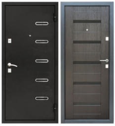 Металлическая дверь УД-145, Йошкар-Ола, 960*2050, венге