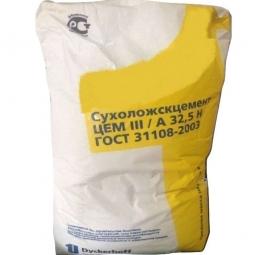 Цемент Сухоложский ЦЕМ III/А 32.5 Н, (М400-Д20) 50кг