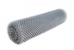 Сетка рабица d=1.8 мм, ячейка 50x50 мм, 2,0х10,0 м оцинкованная