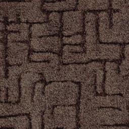 Ковролин Калинка Канны 44 коричневый 4 м рулон