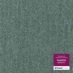 Линолеум коммерческий гетерогенный Tarkett Travertine Green 1 3 м рулон