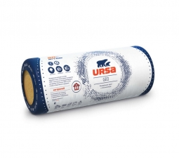Стекловолоконный утеплитель Ursa Geo 37-RN Комфорт 4000х1220х150 мм / 1 шт.