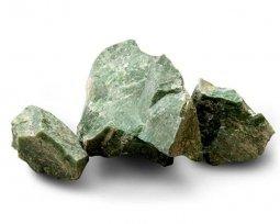 Камень для бани Атлант Камень Жадеит колотый в ведре 10 кг