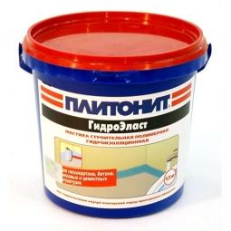 Мастика Плитонит Гидро Эласт эластичная 4.5кг