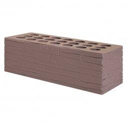 Кирпич лицевой керамический «Шоколад» «Плитняк» пустотелый утолщенный