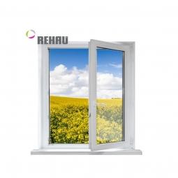 Окно ПВХ Rehau 600х600 мм одностворчатое П 1 стекло