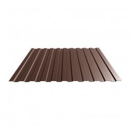 Профнастил С-8 RAL 8017 шоколад 1150х0.35