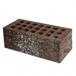 Кирпич лицевой керамический «Шоколад» «Звездная ночь» пустотелый утолщенный