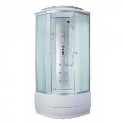 Кабина душевая Aquacubic 3102B 900х900х2200 мм Fabric white